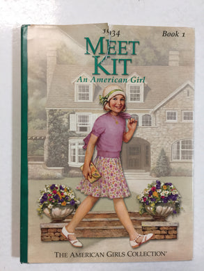 1934 Meet Kit An American Girl Book 1 -Slick Cat Books