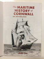 The Maritime History Of Cornwall an introduction - Slickcatbooks