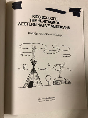 Kids Explore the Heritage of Western Native Americans