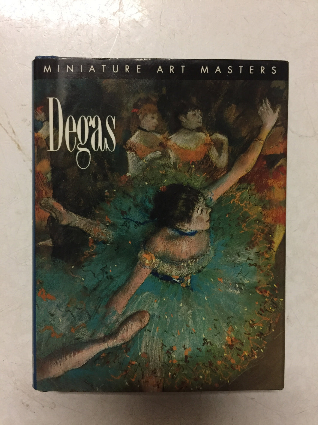 Degas Miniature Art Masters - Slick Cat Books