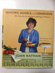 Quiches, Kugels, and Couscous My Search for Jewish Cooking in France - Slickcatbooks