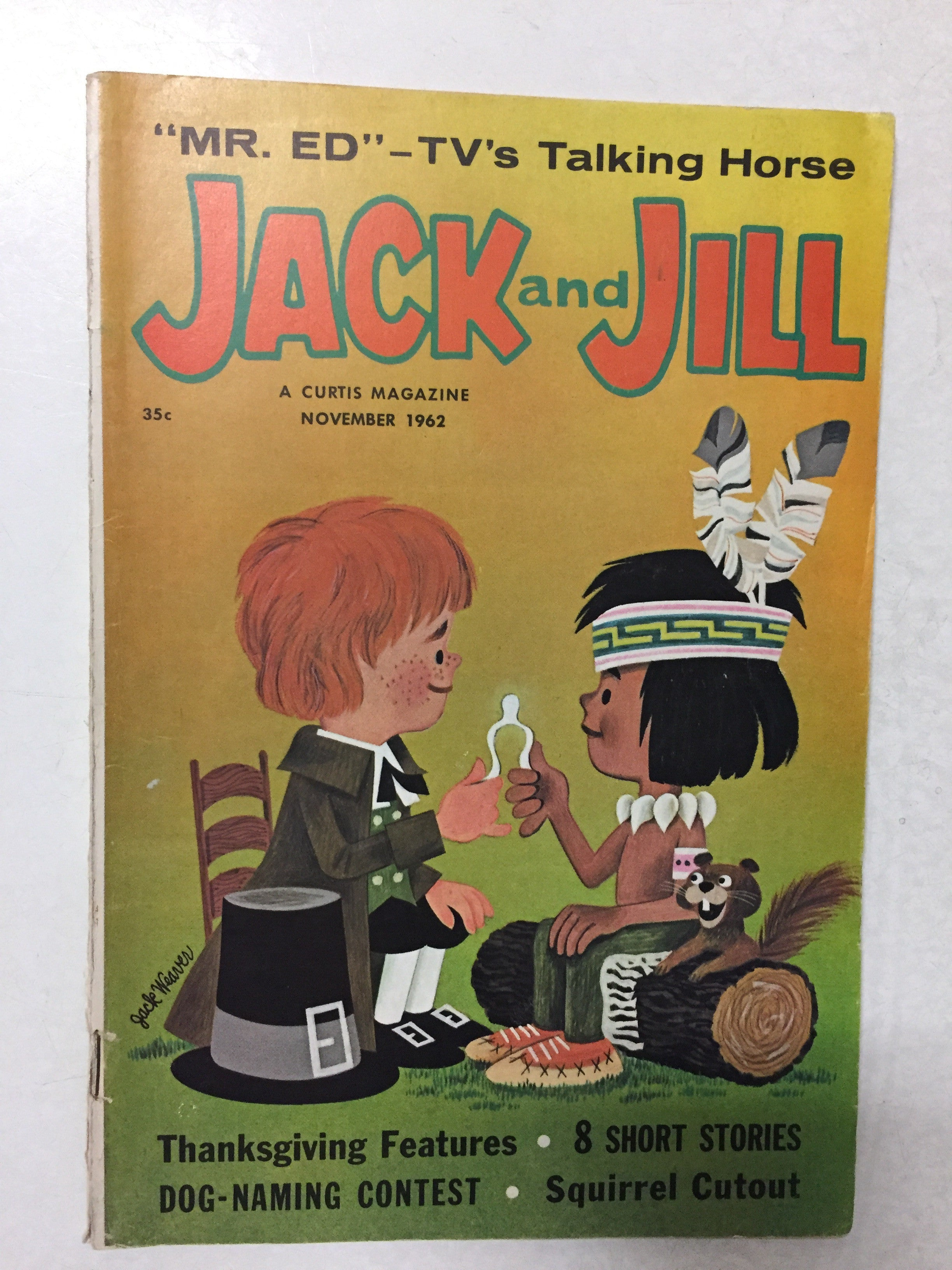 Jack and Jill November 1962 - Slickcatbooks