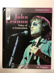 John Lennon Voice of a Generation - Slick Cat Books