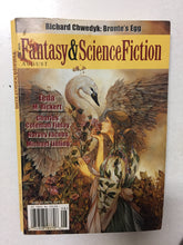 Fantasy & Science Fiction Magazine August 2002 - Slick Cat Books