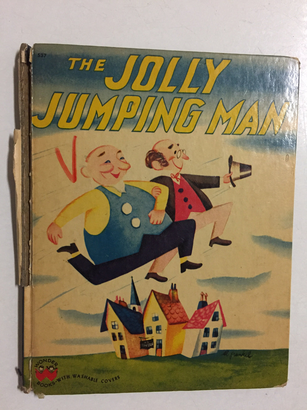 The Jolly Jumping Man- Slick Cat Books