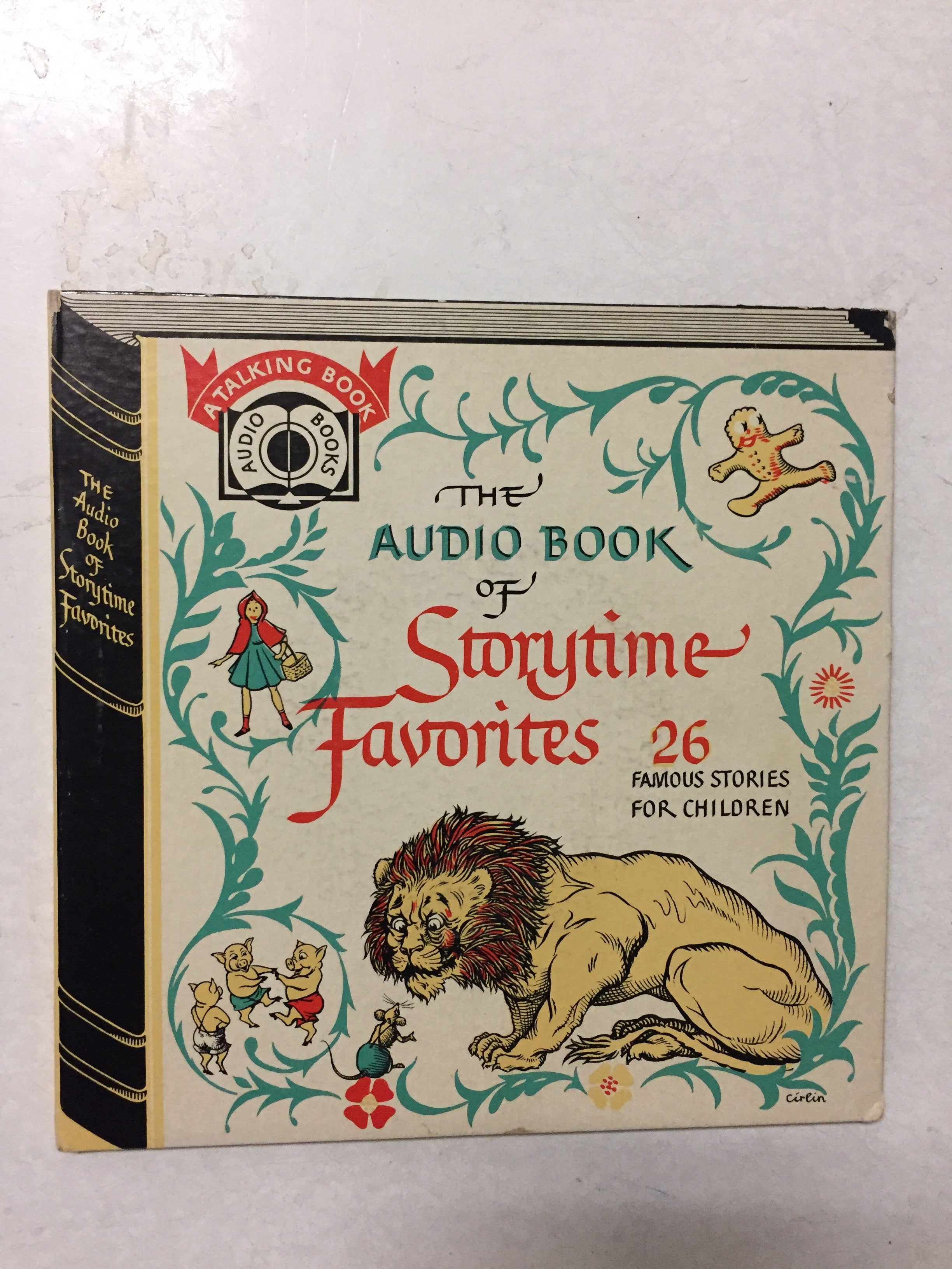 The Audio Book of Storytime Favorites 26 Famous Stories For Children - Slickcatbooks