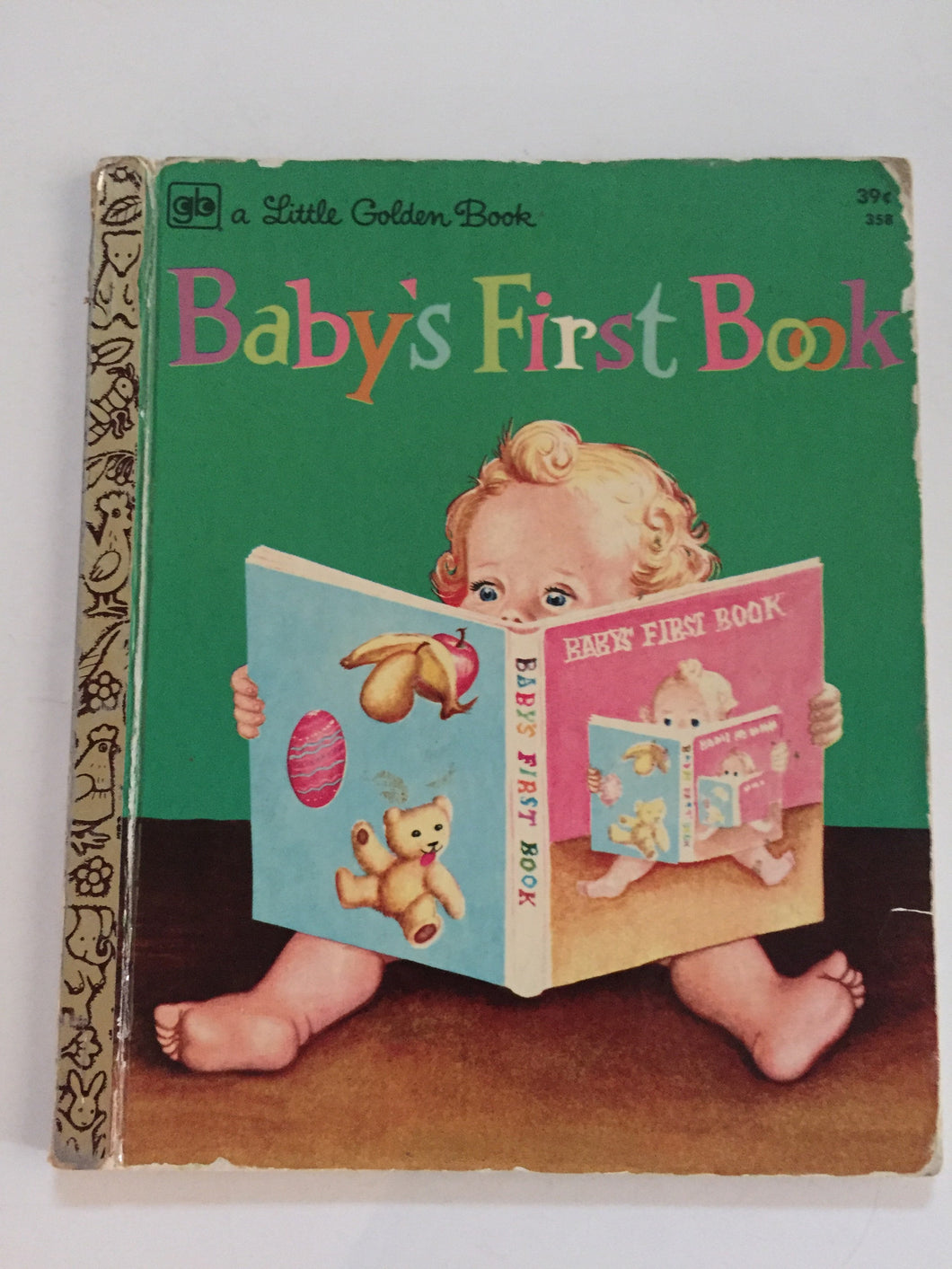 Baby's First Book - Slick Cat Book
