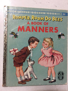 Romper Room Do Bees A Book of Manners - Slickcatbooks