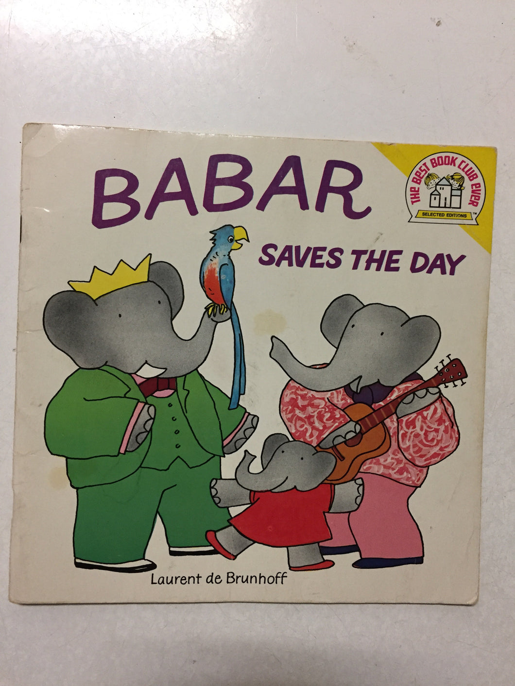 Babar Saves the Day - Slick Cat Books