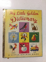 My Little Golden Dictionary - Slickcatbooks