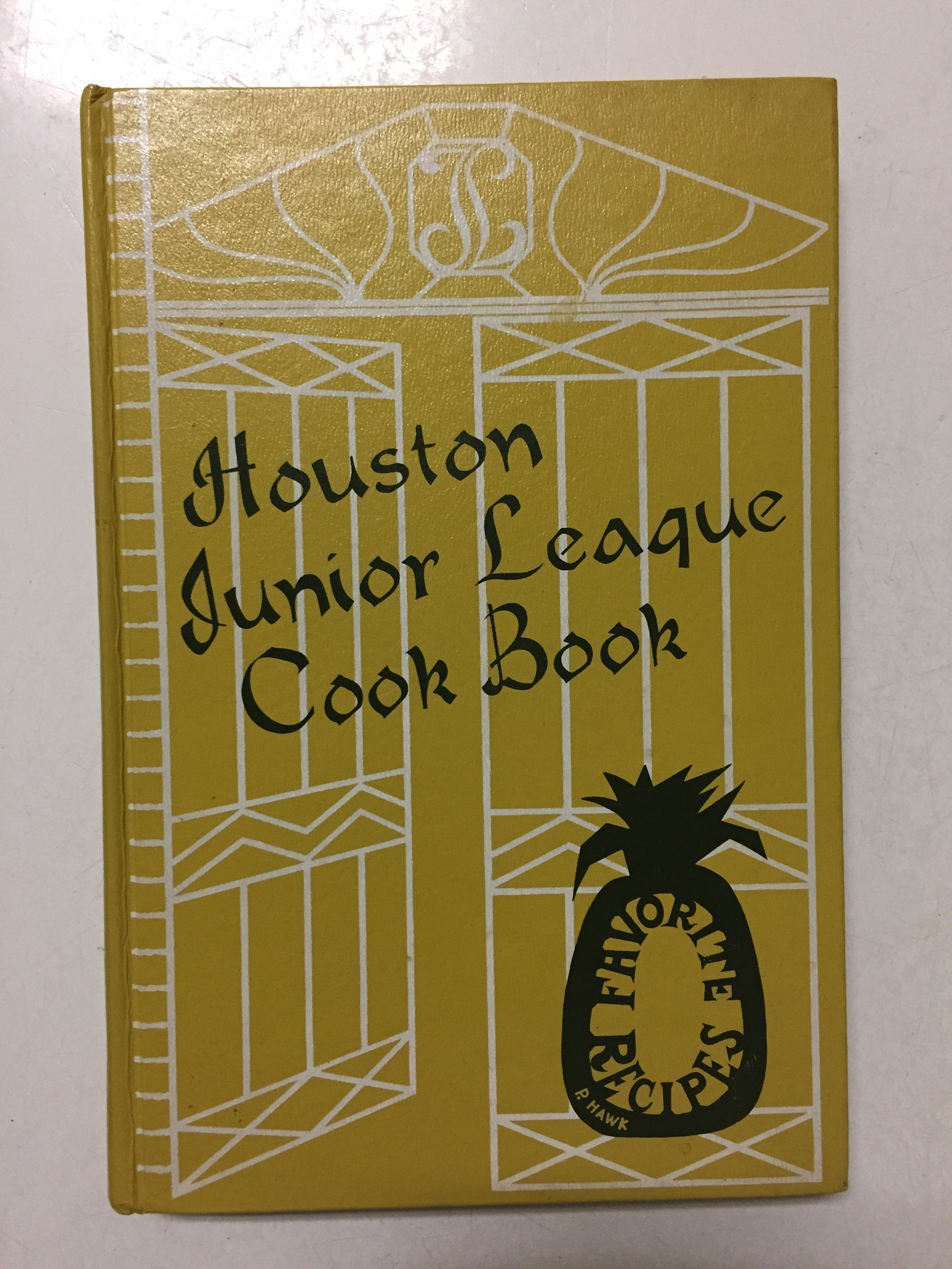 Houston Junior League Cookbook Favorite Recipes - Slickcatbooks
