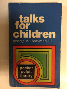 Talks for Children - Slickcatbooks