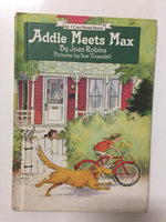 Addie Meets Max - Slickcatbooks