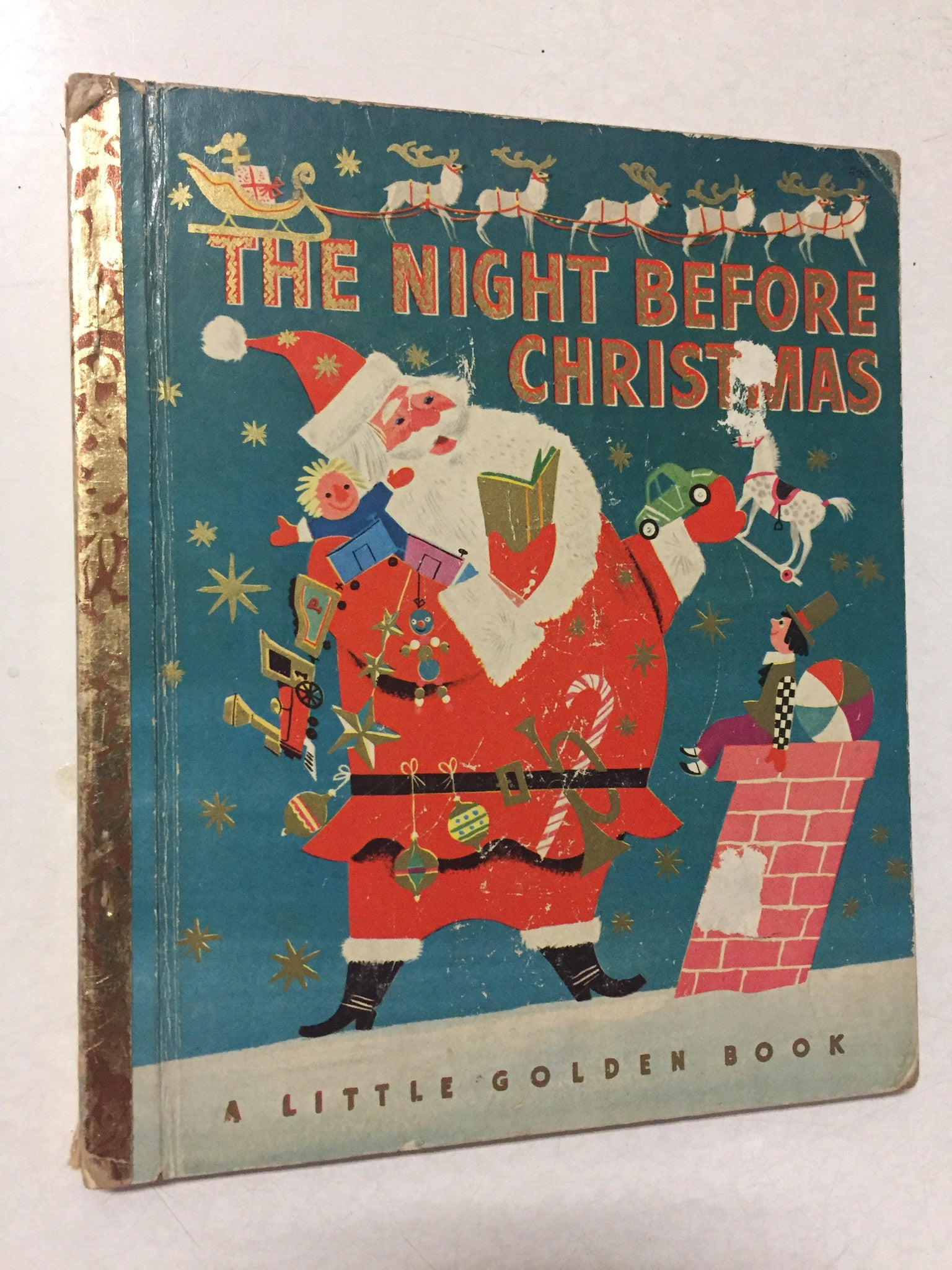 The Night Before Christmas - Slickcatbooks