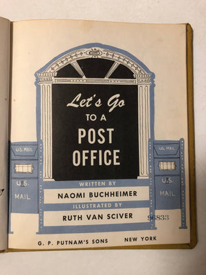 Let's Go to a Post Office - Slickcatbooks