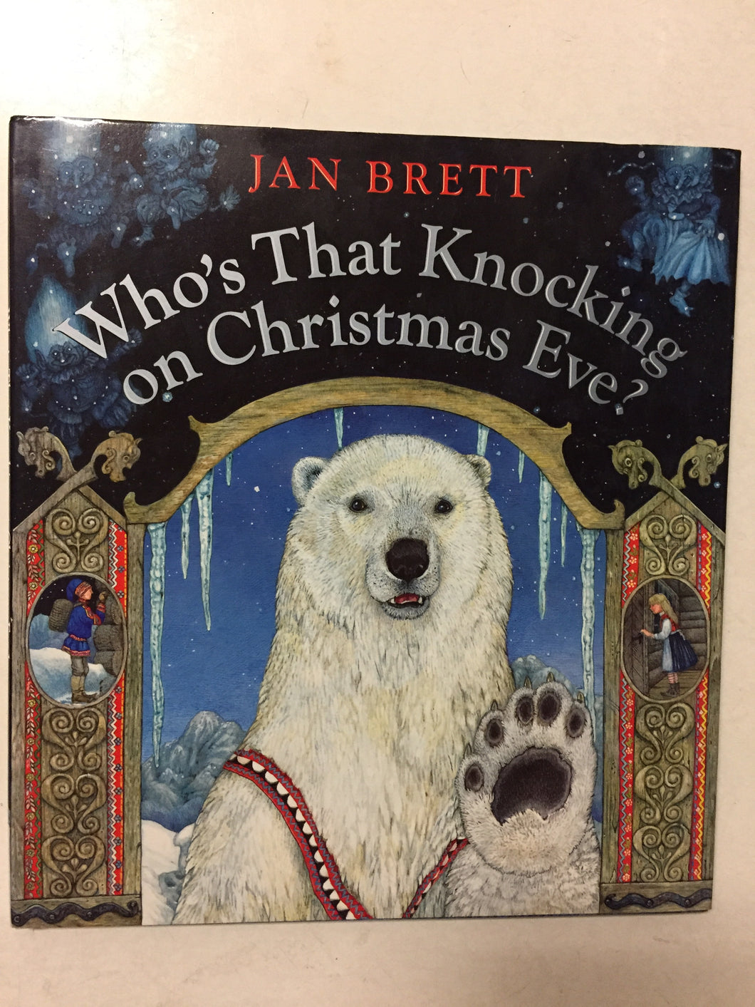 Who's That Knocking on Christmas Eve? - Slickcatbooks