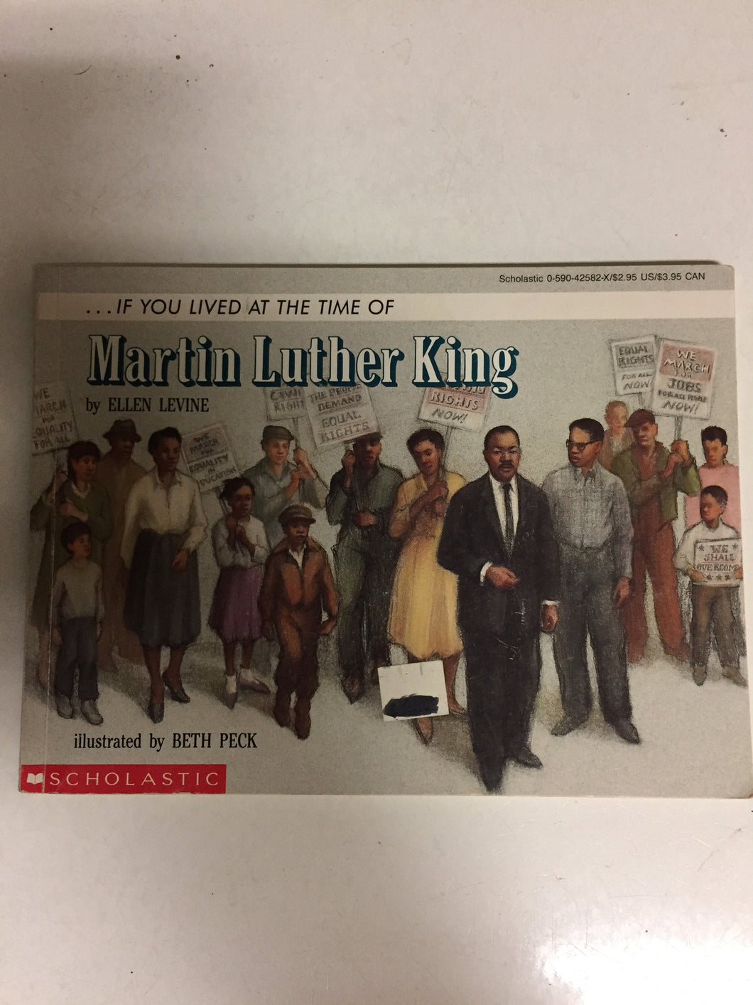 If You Lived At the Time of Martin Luther King - Slickcatbooks