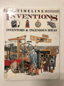 Timelines Inventions Inventors & Ingenious Ideas - Slick Cat Books