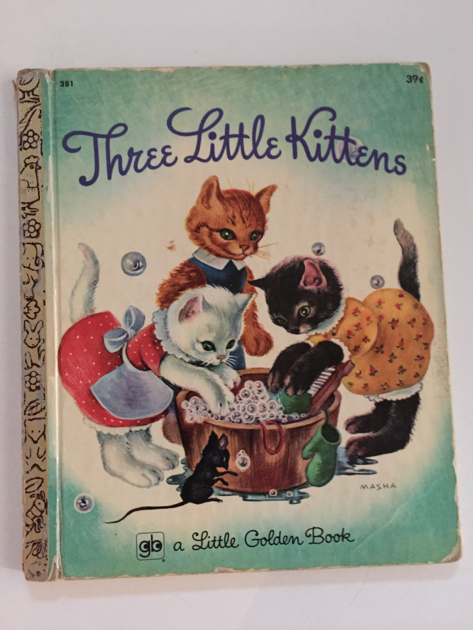 Three Little Kittens - Slickcatbooks