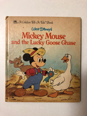 Walt Disney's Mickey Mouse and the Lucky Goose Chase - Slickcatbooks