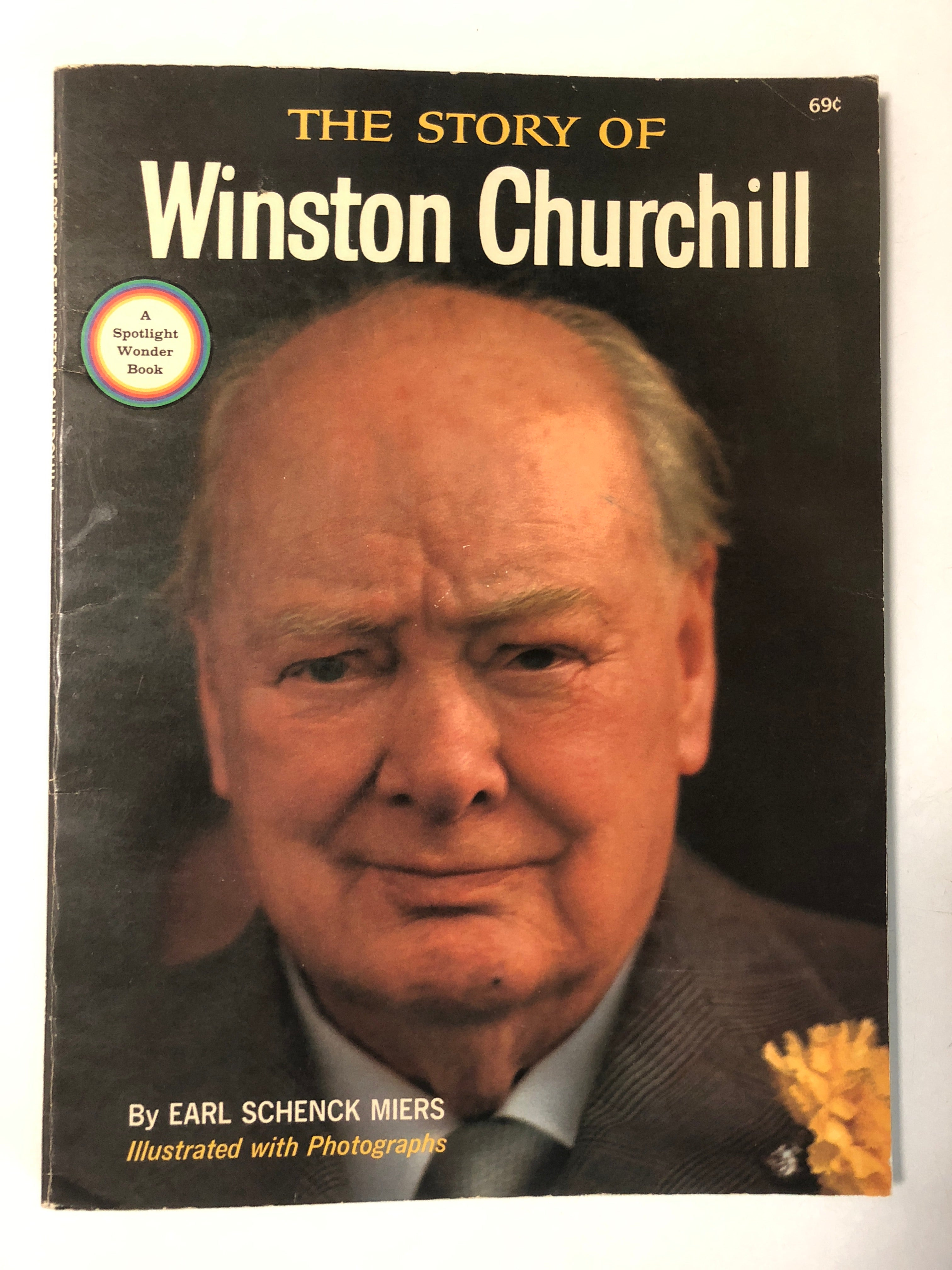 The Story of Winston Churchill - Slick Cat Books