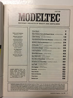 Modeltec June 1984 - Slickcatbooks