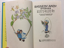 Raggedy Andy's Stories Introducing the Little Rag Brother Of Raggedy Ann - Slickcatbooks