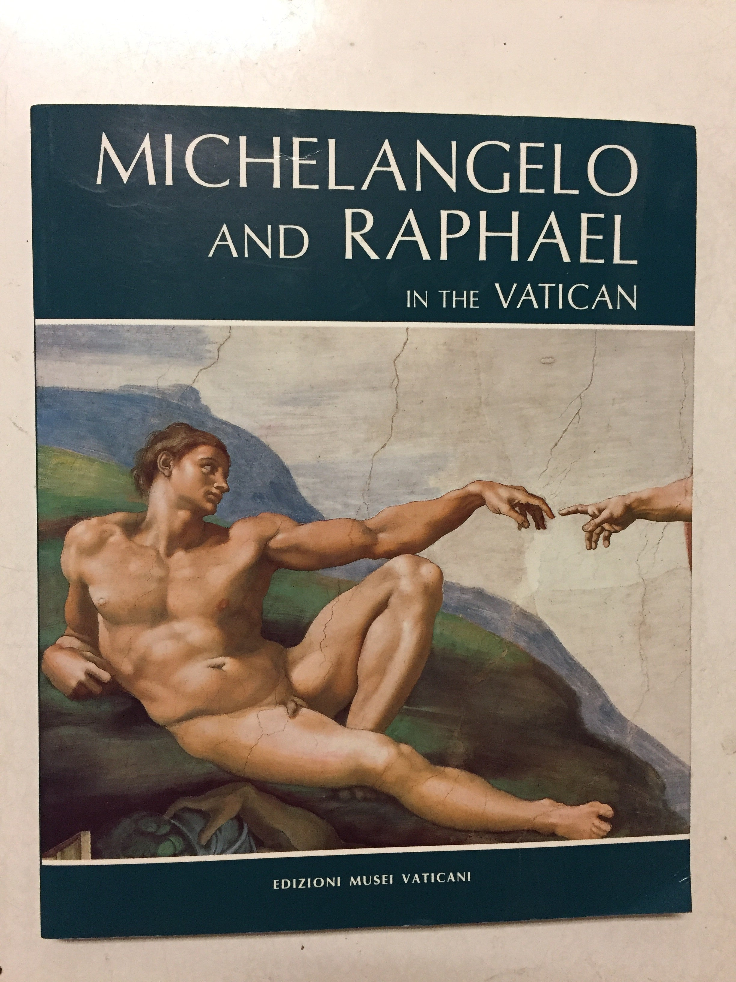 Michelangelo and Raphael in the Vatican - Slickcatbooks