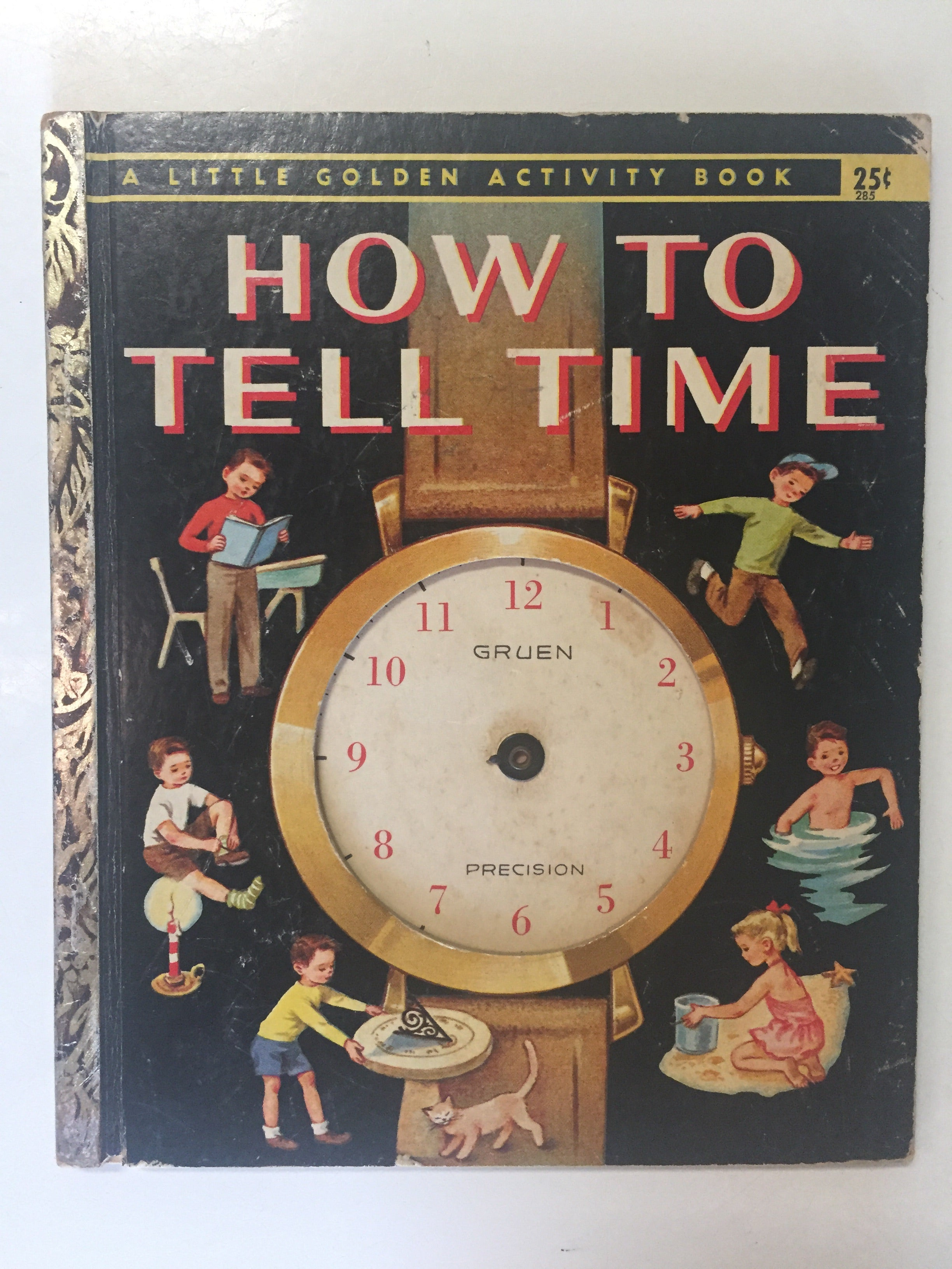How To Tell Time - Slick Cat Books