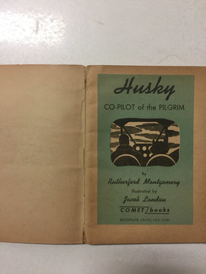 Husky Co-Pilot of the Pilgrim - Slickcatbooks