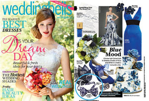 Pomp & Ceremony featured in Wedding Bells Magazine