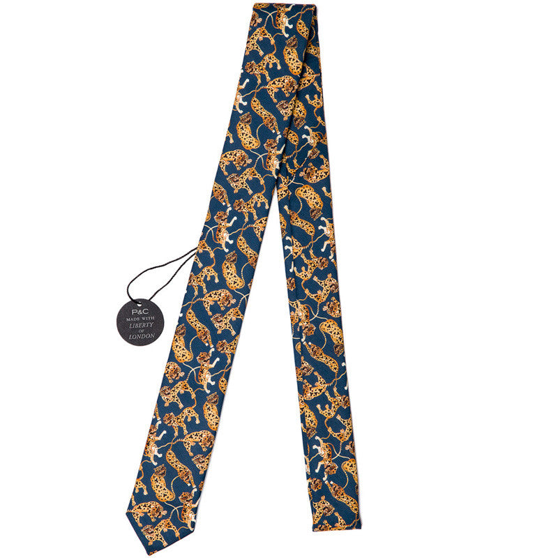 Liberty of London Heads and Tails Skinny Tie