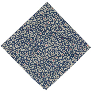 Liberty of London Feather Fields Pocket Square