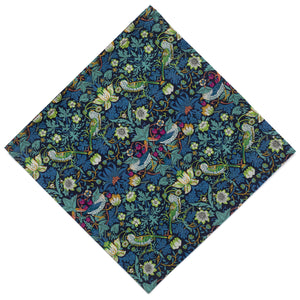 Liberty of London Strawberry Thief Pocket Square