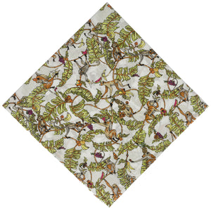 Liberty of London Tree Tops Pocket Square