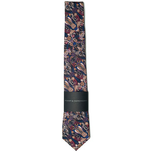 Liberty of London Queen Bee Burgundy Tie