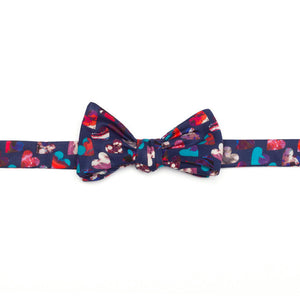 Liberty of London Marble Hearts Bow Tie