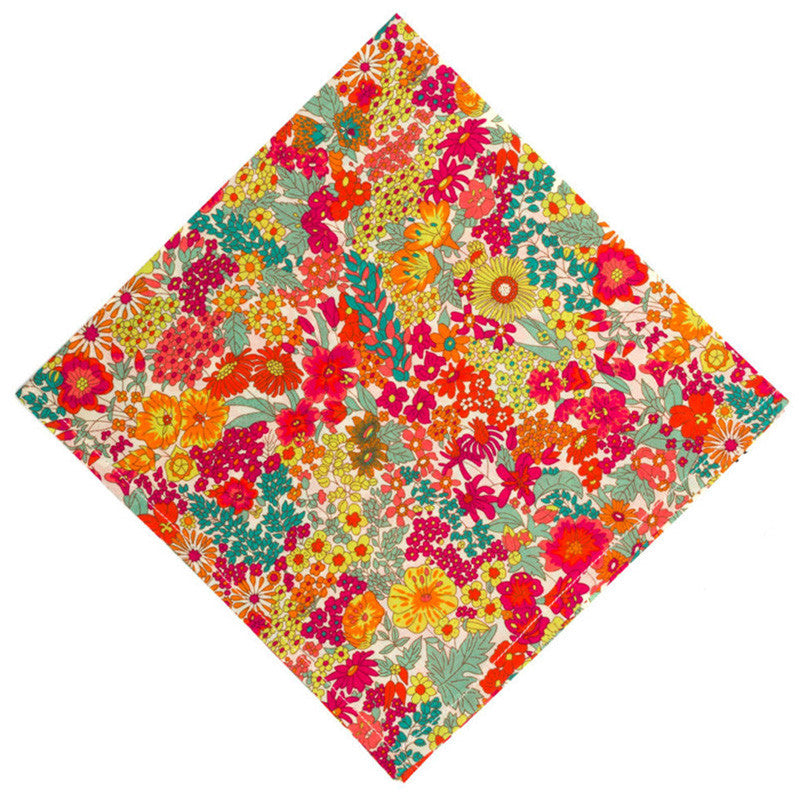 Liberty of London Margaret Annie Pocket Square