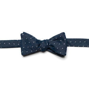 Liberty of London Chambray Dot Bow Tie