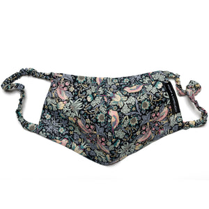 Liberty Print Mask - Strawberry Thief