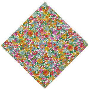 Liberty of London June Blossom Pocket Square