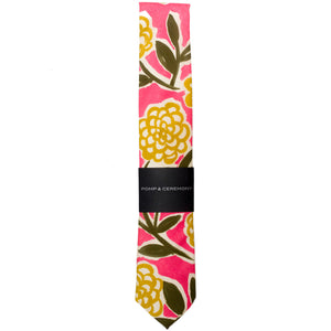 Liberty of London Pink Peony Tie