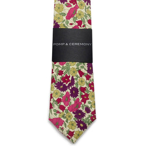 Liberty of London Poppy & Daisy Tie