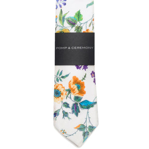 Liberty of London Yorkshire Rose Print Tie