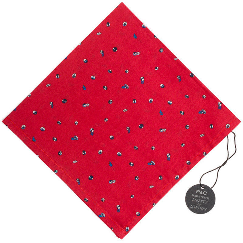 Liberty of London Scatter Buds Pocket Square