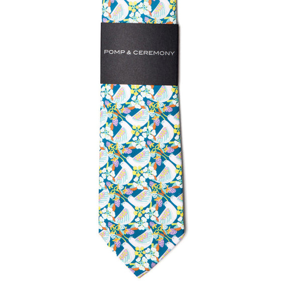 Liberty of London Strawberry Feast Tie