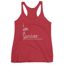 I Am Collection Women's Survivor Tank, Multiple Colors