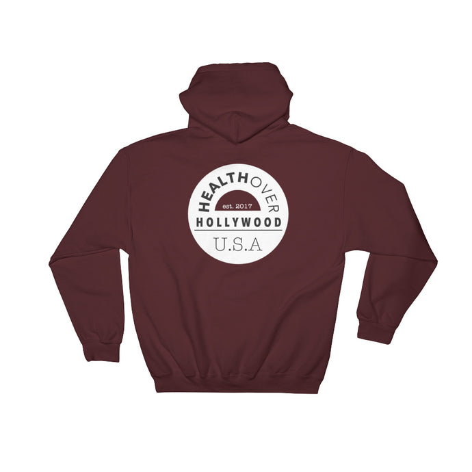 Logo Collection Cozy Hoodie, Maroon
