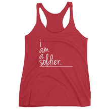 I Am Collection Women's Soldier Tank, Multiple Colors