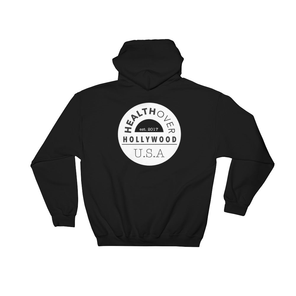 Logo Collection Cozy Hoodie, Black